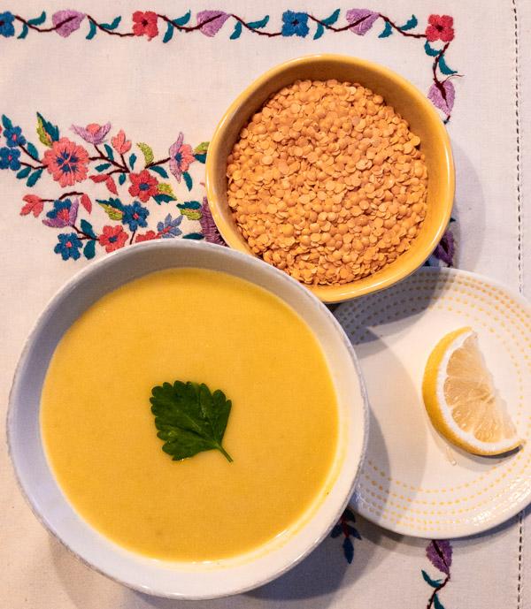 Lentil Soup (Shorbat Adas)