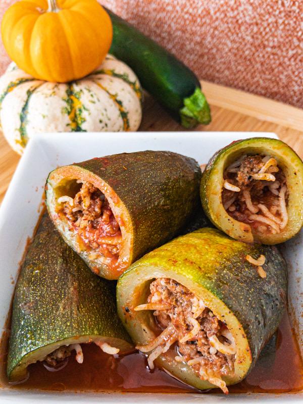 Kousa (Stuffed Zucchini)