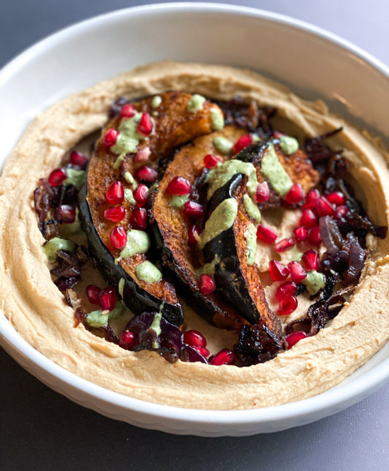 Fall Hummus Bowl