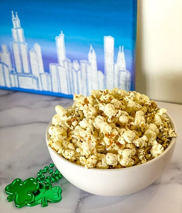 Za'atar Spiced Popcorn