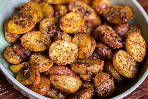 Za'atar Roasted Potatoes