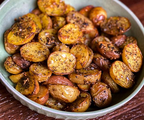 Za'atar Roasted Potatoes
