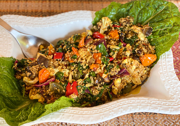 Moroccan Roasted Vegetable Salad